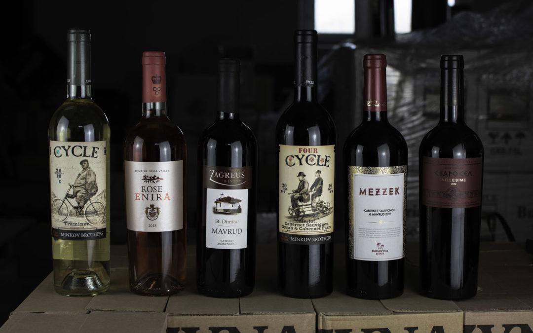 Vánoční výběr vín ze skladu