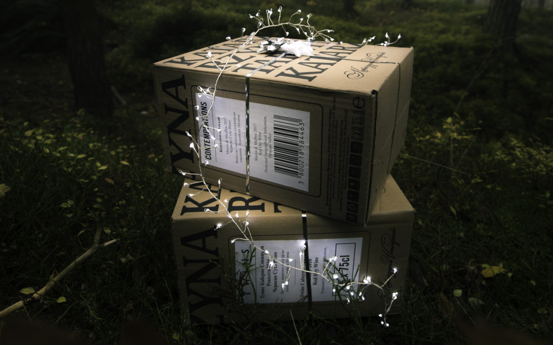 Akce Vánoční kartón